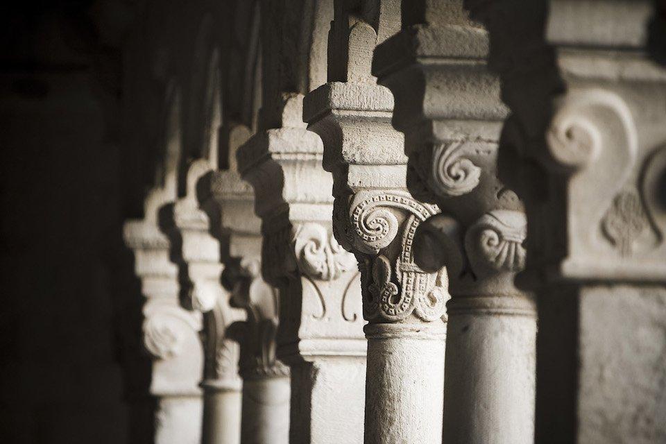 Abbaye De Sénanque Piliers