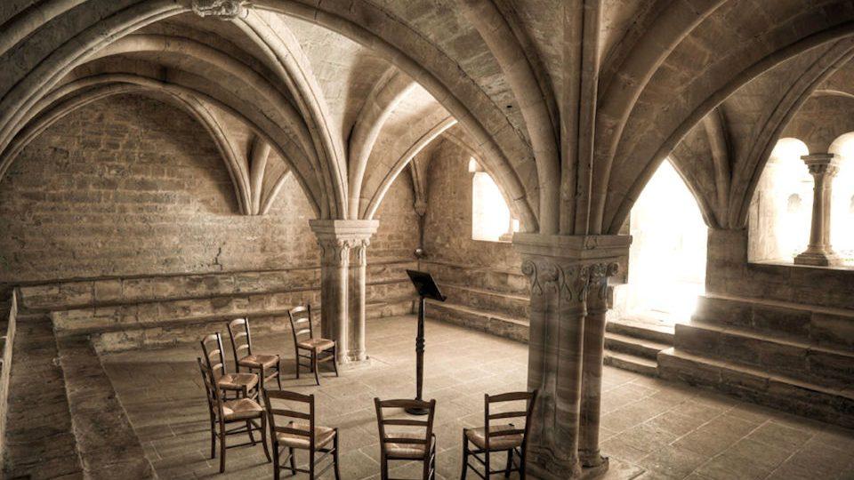 Abbaye De Séenanque Salle Capitulaire