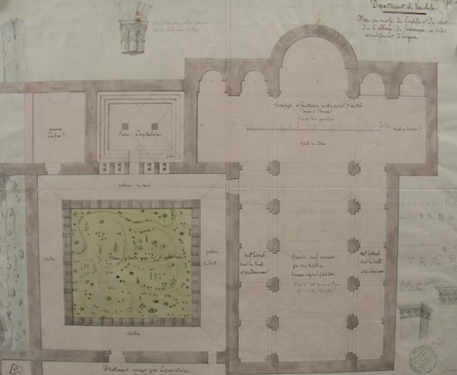 Plan Abbaye Senanque