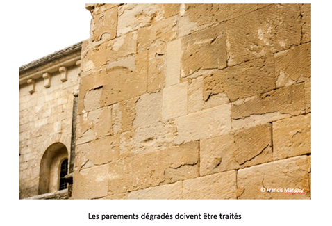 Rénovation Abbaye de Sénanque