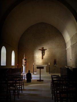 84 Senanque abbaye 36 chapelle des moines